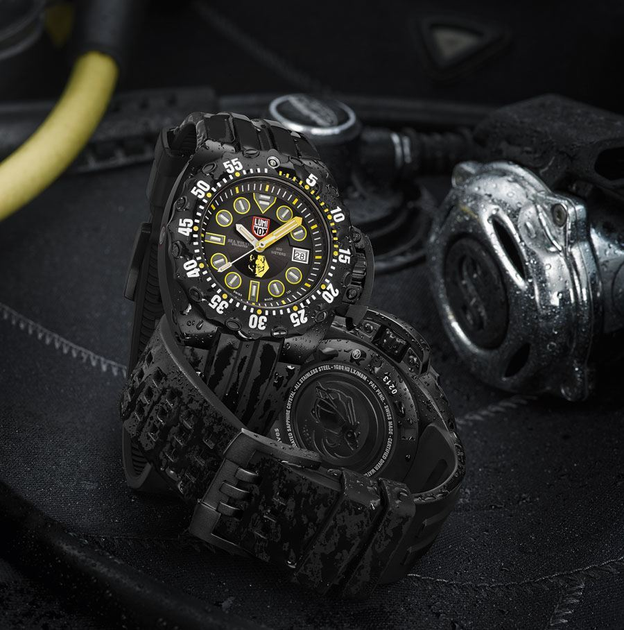 Luminox: Scott Cassell Deep Dive Special 1520 Series