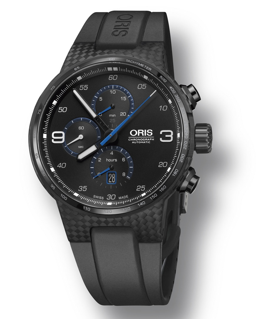 Oris: Williams Chronograph Carbon Fibre Extreme