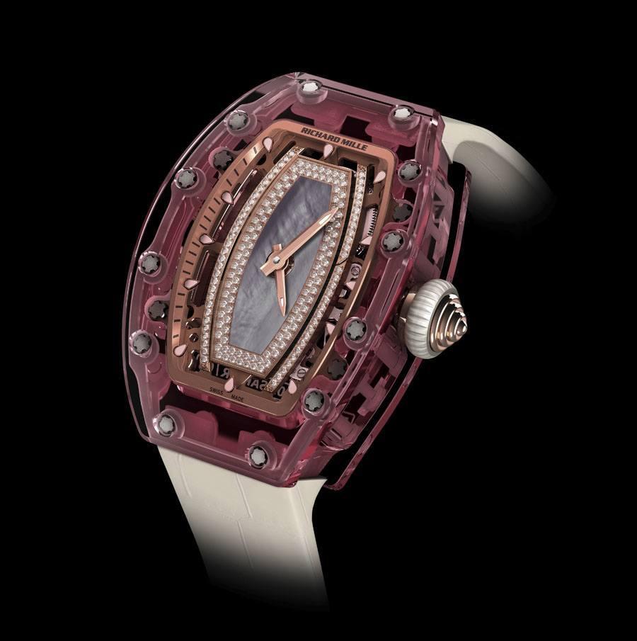 Richard Mille: RM 07-02 Pink Lady Sapphire