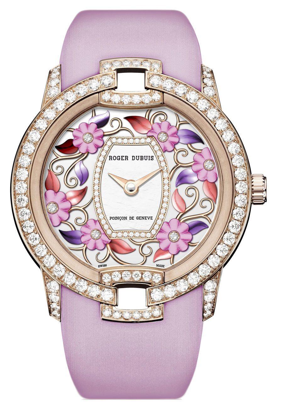 Roger Dubuis: Blossom Velvet Pink