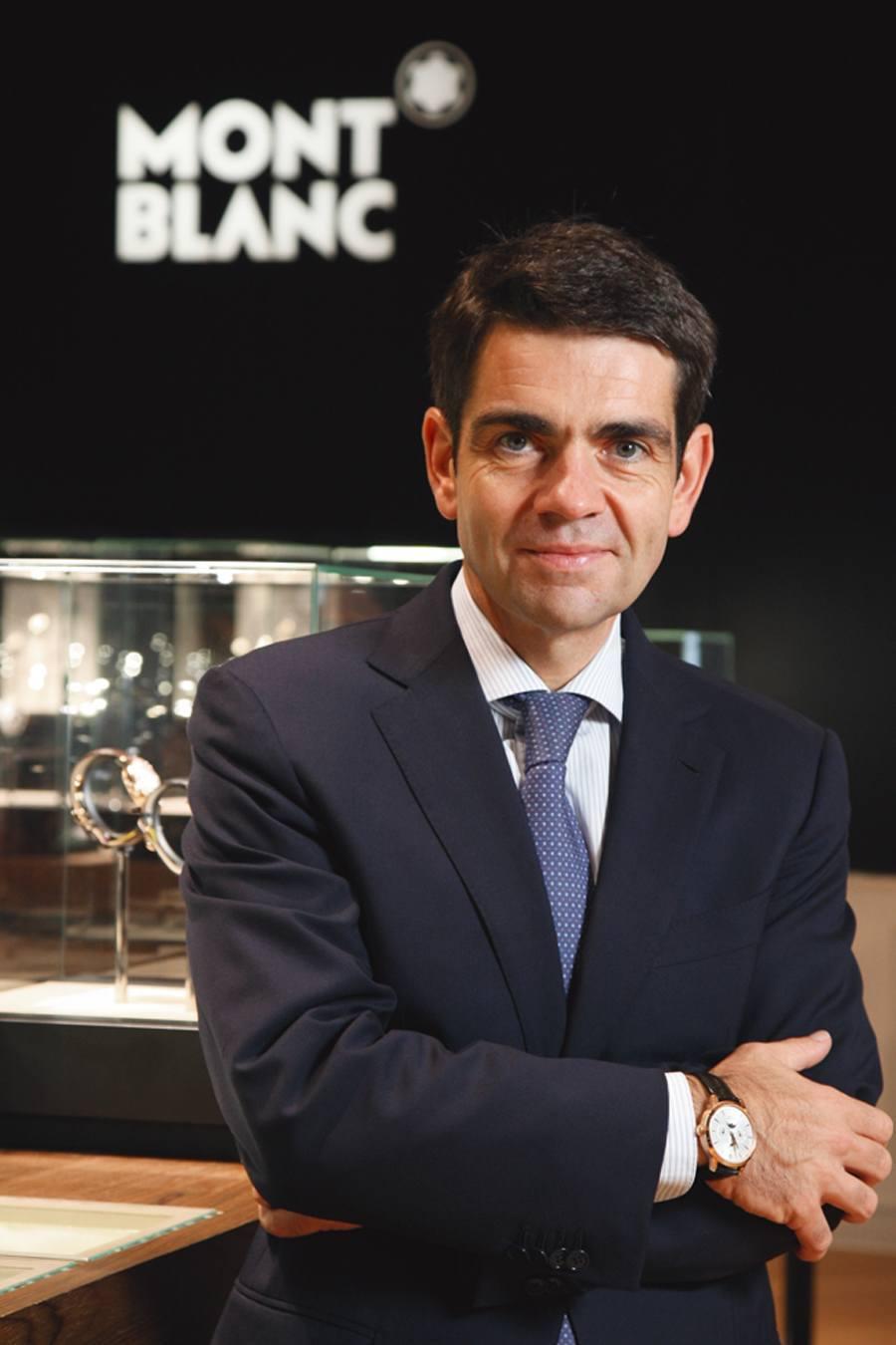 Montblanc-CEO Jérôme Lambert