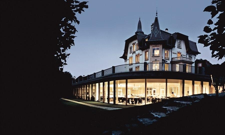 Das Montblanc-Firmengebäude in Le Locle