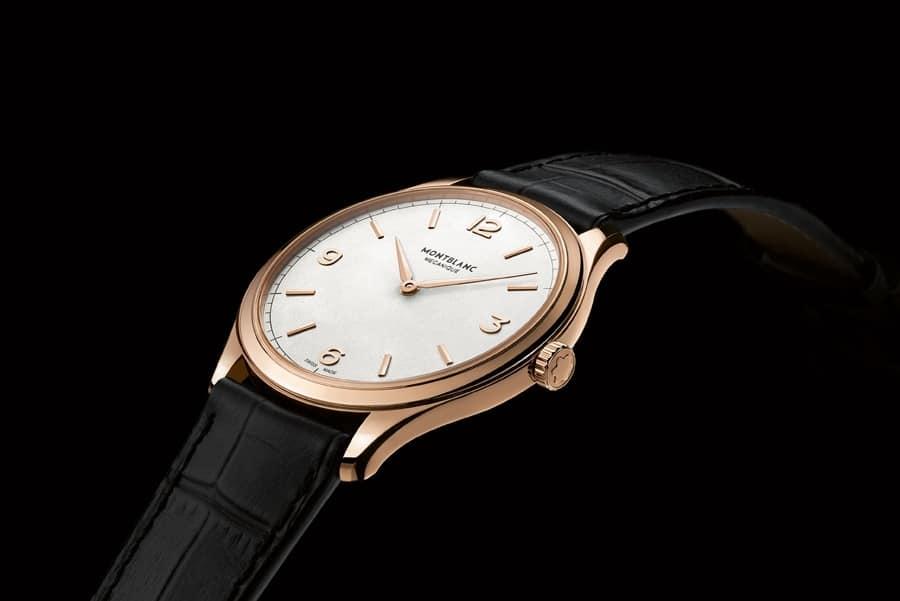 Montblanc: Heritage Chronométrie Handaufzug Ultra Slim