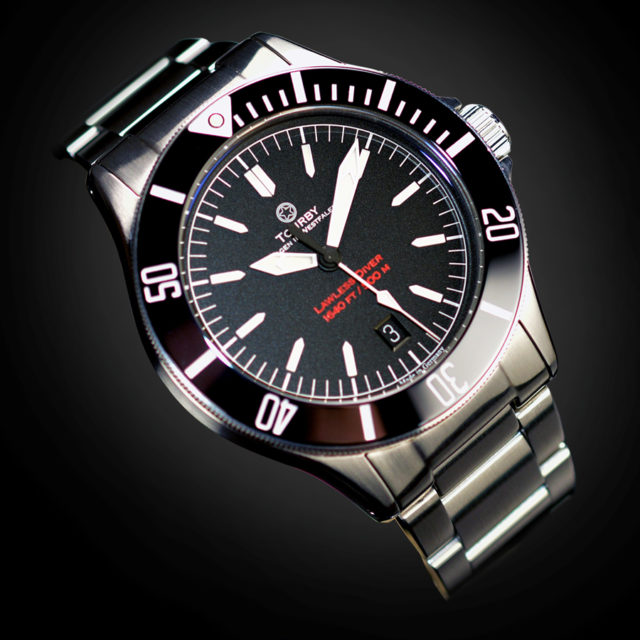 Tourby Watches: Diver Lawless 42