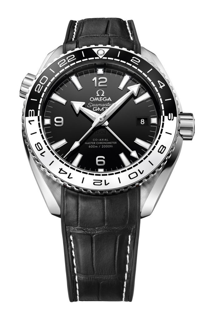 Omega: Planet Ocean 600m Co-Axial Master Chronometer GMT