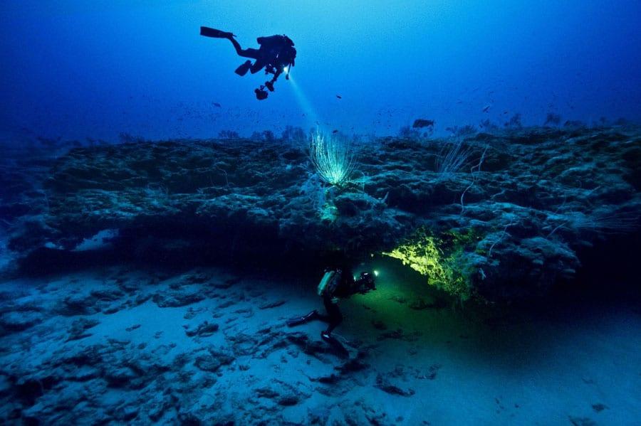 Gombessa Project 120m unter Wasser