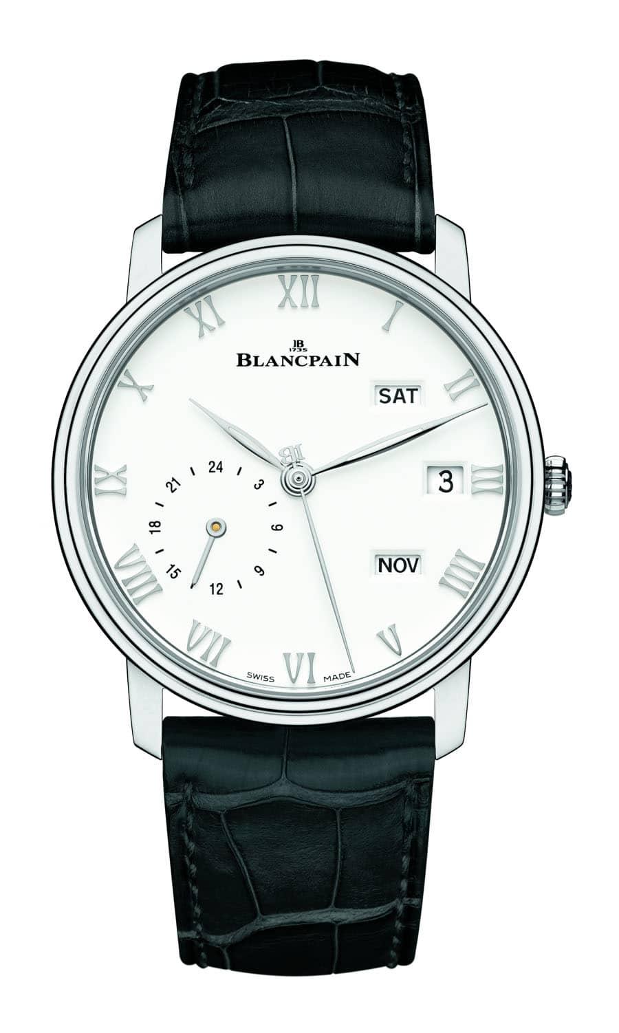 Blancpain Villeret Jahreskalender mit GMT