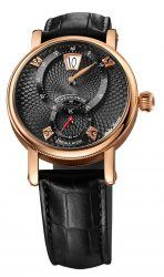 Chronoswiss: Flying Regulator Jumping Hour in Rotgold mit schwarzem Zifferblatt