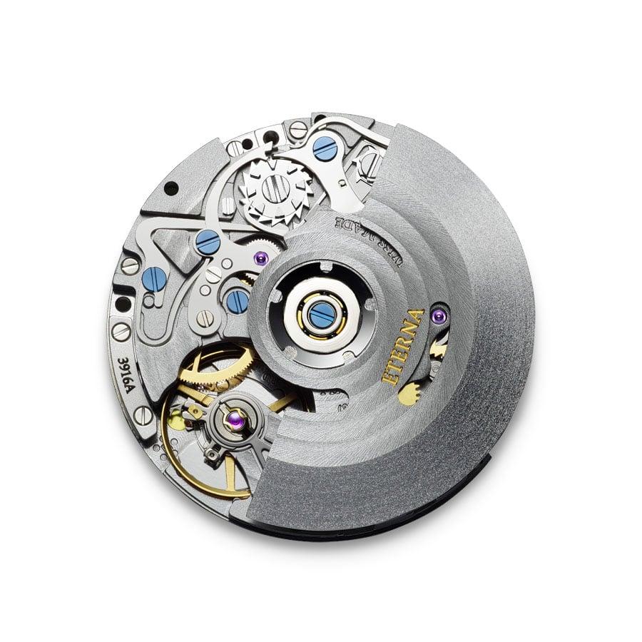 Eterna-Manufakturkaliber 3916A, ein Chronograph mit Flyback-Funktion