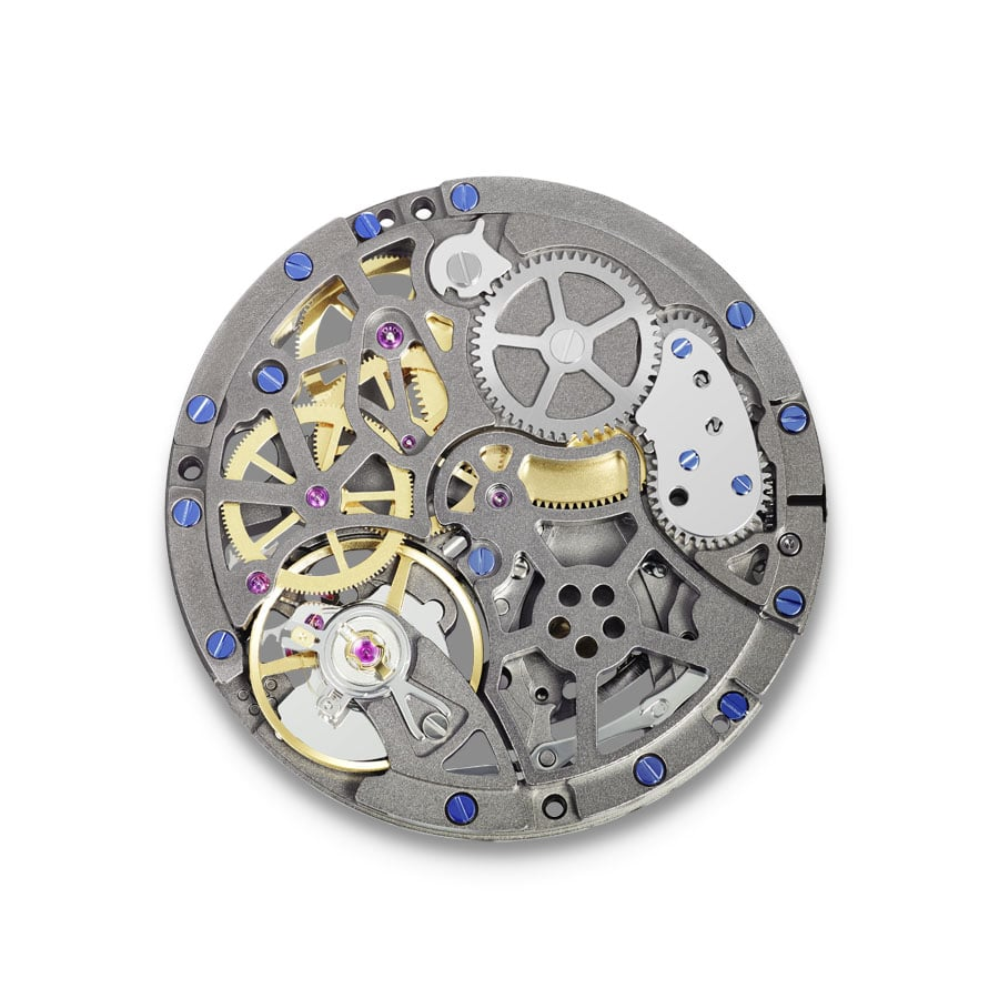 Eterna Movement 3902M Skelet