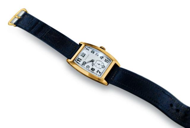 Einsteins Longines-Uhr