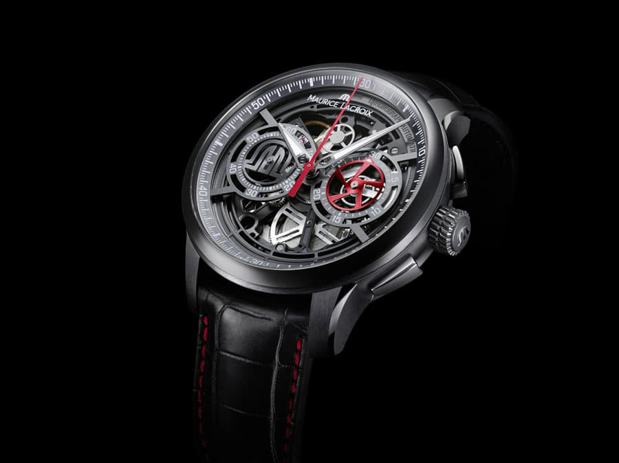 Maurice Lacroix: Masterpiece Chronograph Skeleton