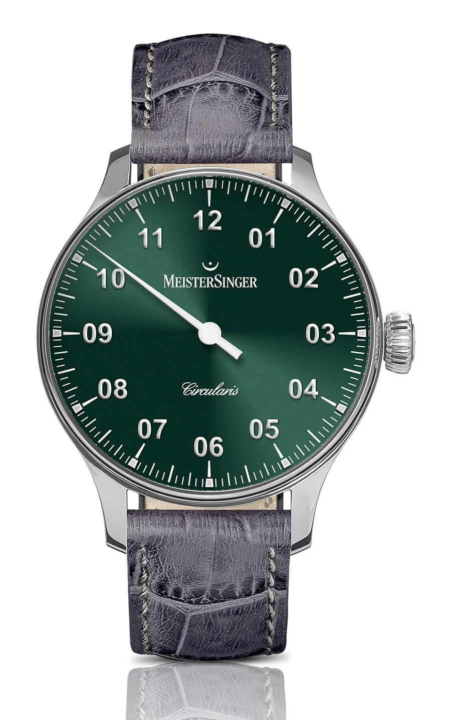 Meistersinger: Circularis Handaufzug Rensing-Green