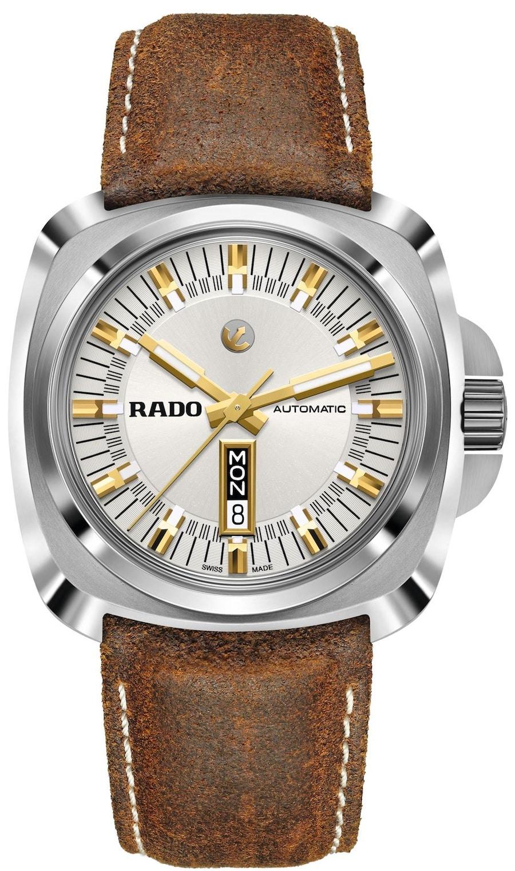 Die Rado Hyperchrome 1616 ist sowohl im Titan- wie im Keramikgehäuse bis zu zehn Bar wasserdicht.