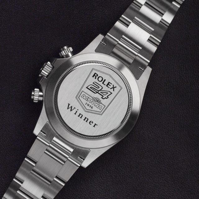 Auch heute noch eine Sieges-Trophäe für Rennfahrer: Der Rolex Cosmograph Daytona