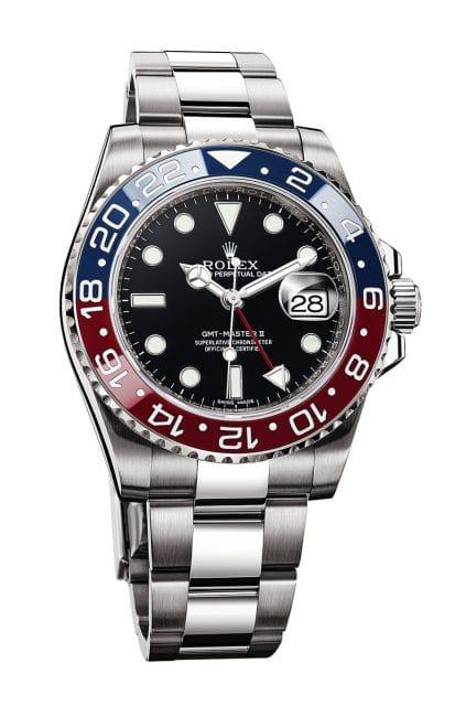 Wasserdicht, selbstaufziehend und chronometergeprüft: Rolex GMT-Master II