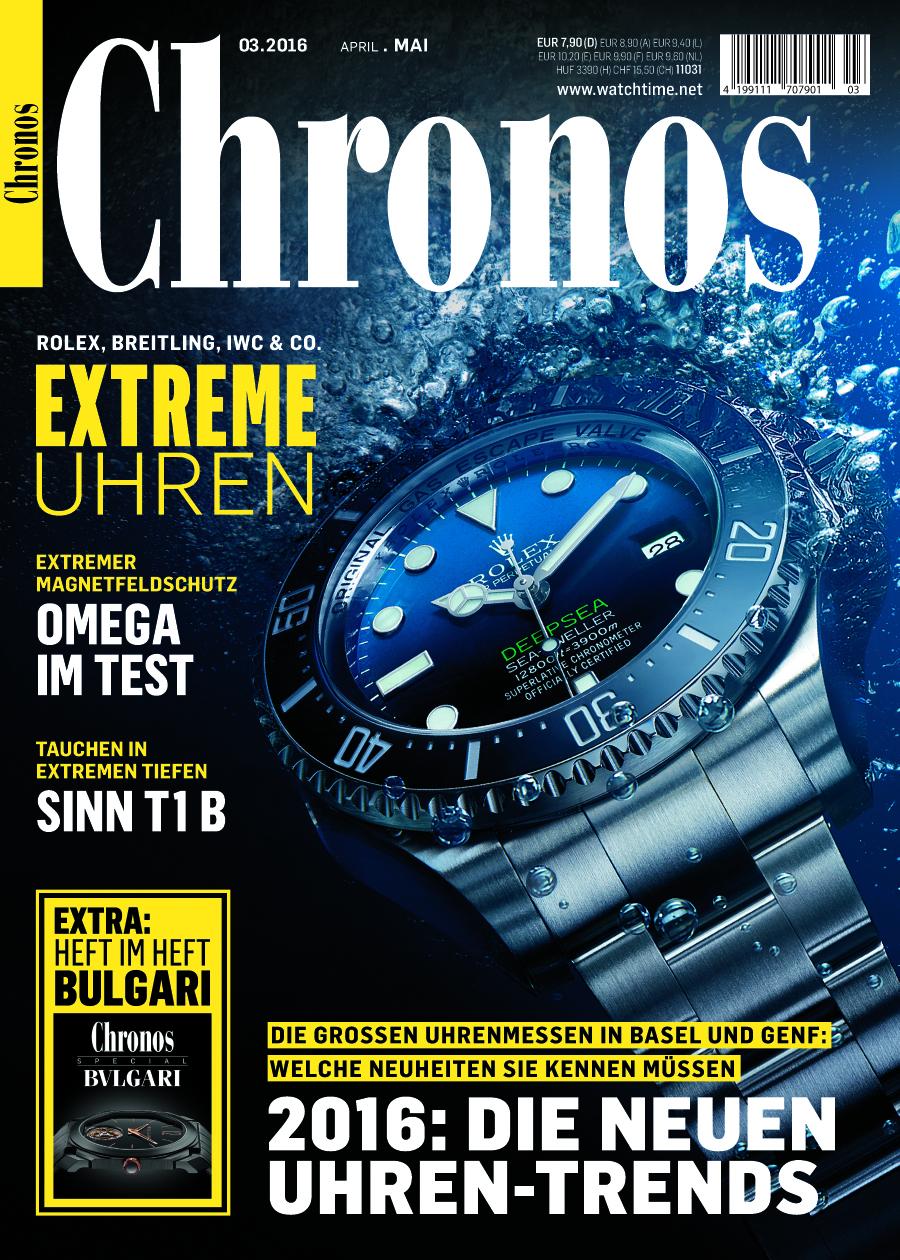Mehr Marken, mehr Design, mehr Technik: die neue Chronos