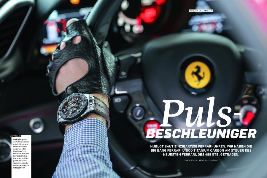 Hublot und Ferrari in der neuen Chronos