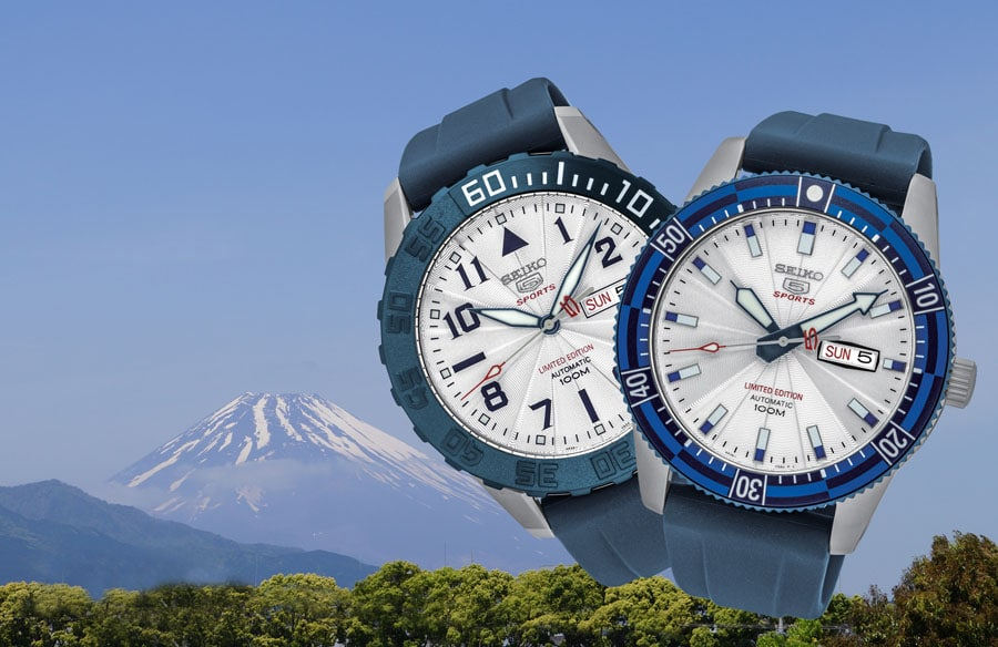 Seiko 5 Sports Mount Fuji World Heritage Limited Edition