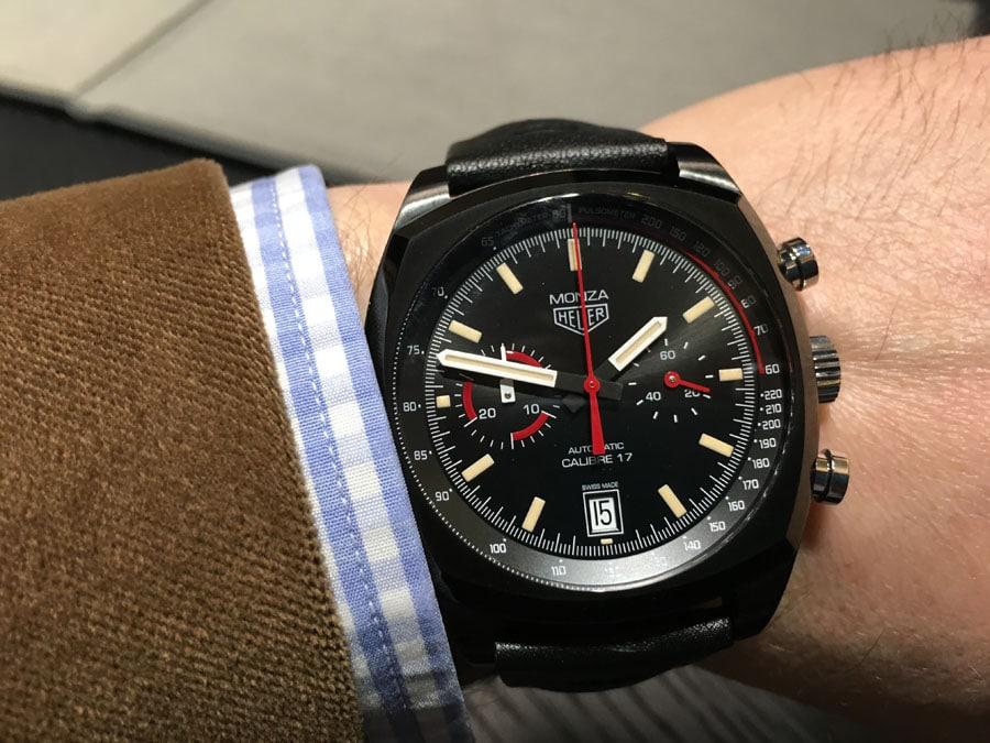 TAG Heuer: Monza Chronograph Calibre 17 am Handgelenk