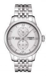 Tissot: Le Locle Regulateur in Edelstahl mit Stahlband