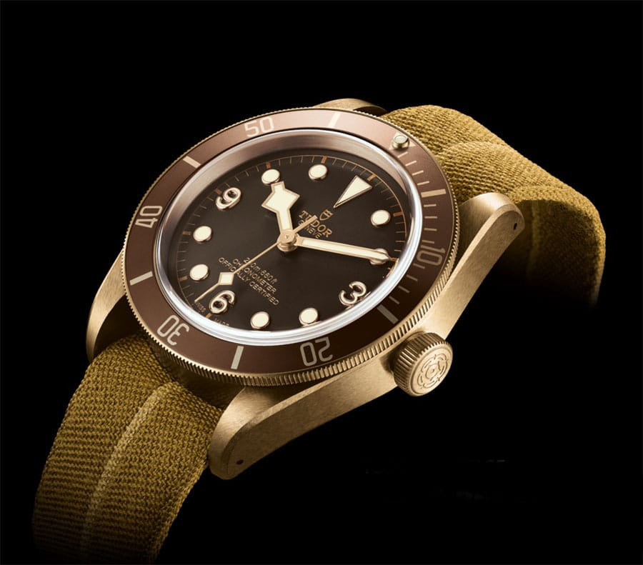Tudor: Heritage Black Bay Bronze