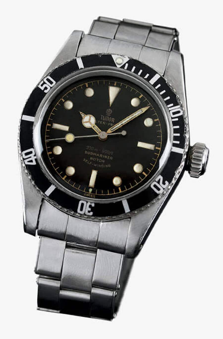 Tudor: Oyster Prince Submariner Big Crown Referenz 7924 von 1958, Foto Tudor