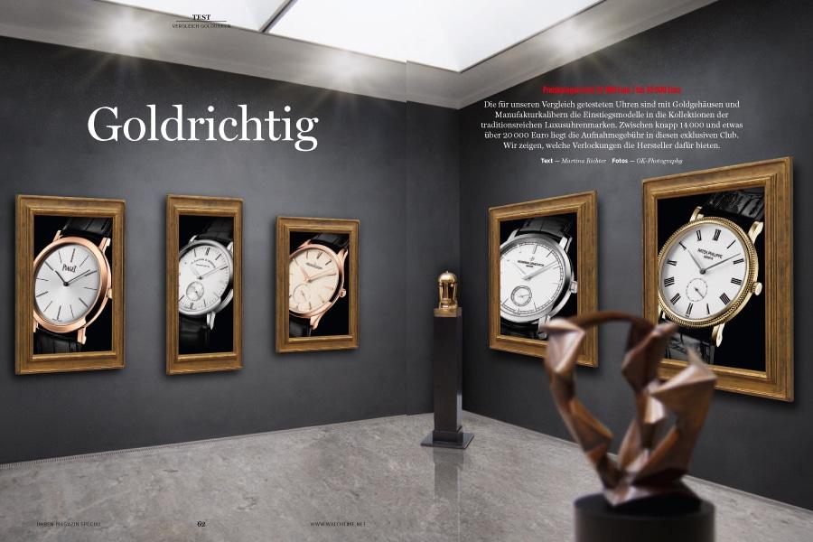 Uhren gelten heute auch als Sachanlage. Diese Golduhren sind dafür der ideale Einstieg.