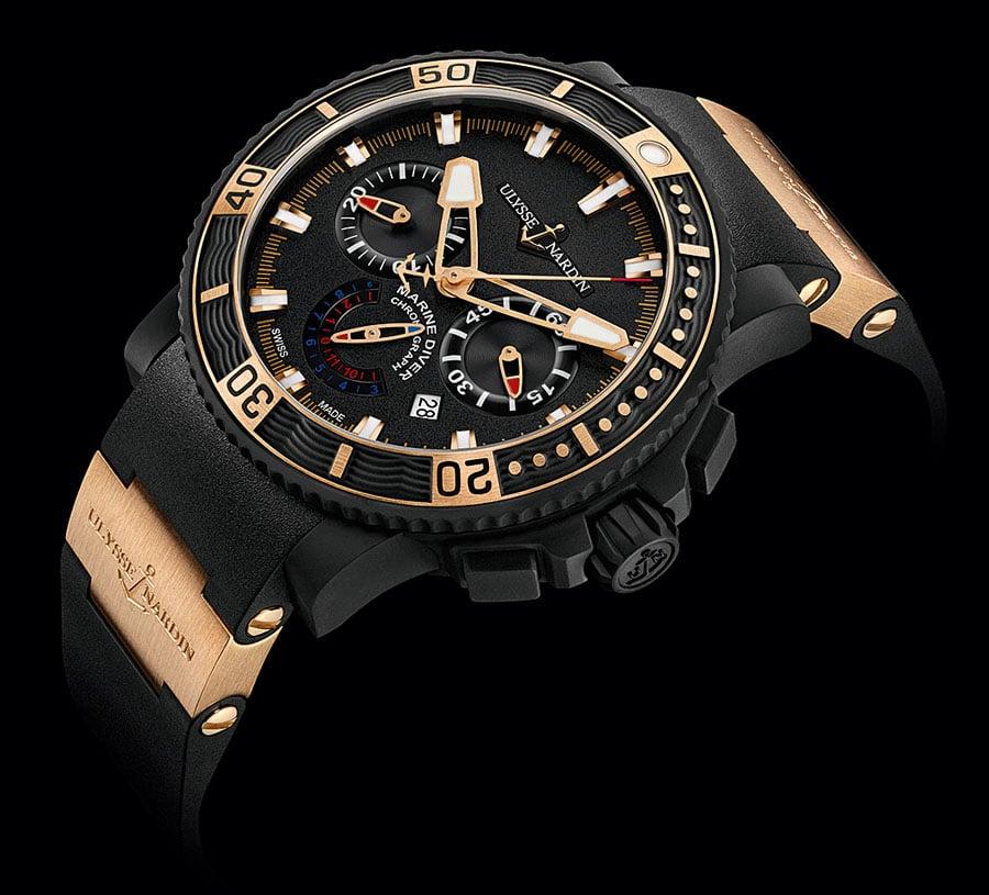 Segelprofi: Ulysse Nardin Marine Diver Black Sea Chronograph