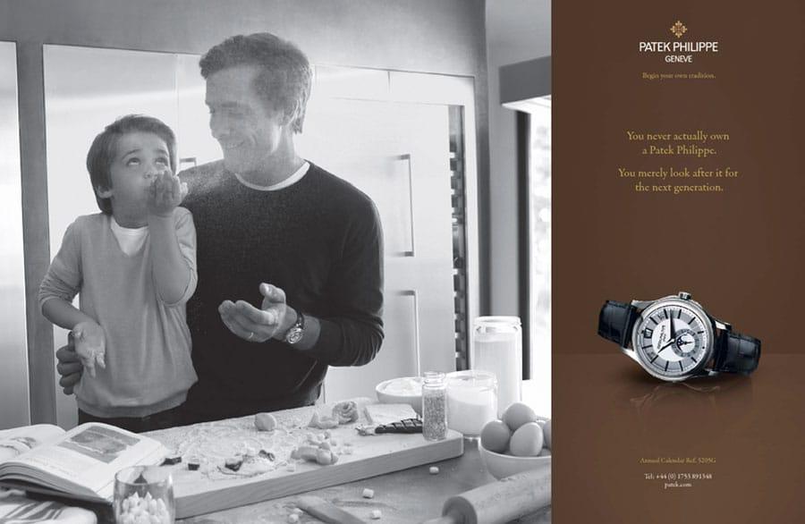Werbung Patek Philippe