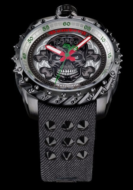 Bomberg: Bolt-68 Black Nails Badass