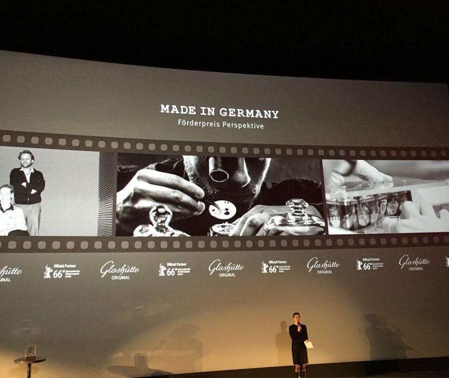 Glashütte Original vergibt während der Berlinale den Förderpreis Perspektive