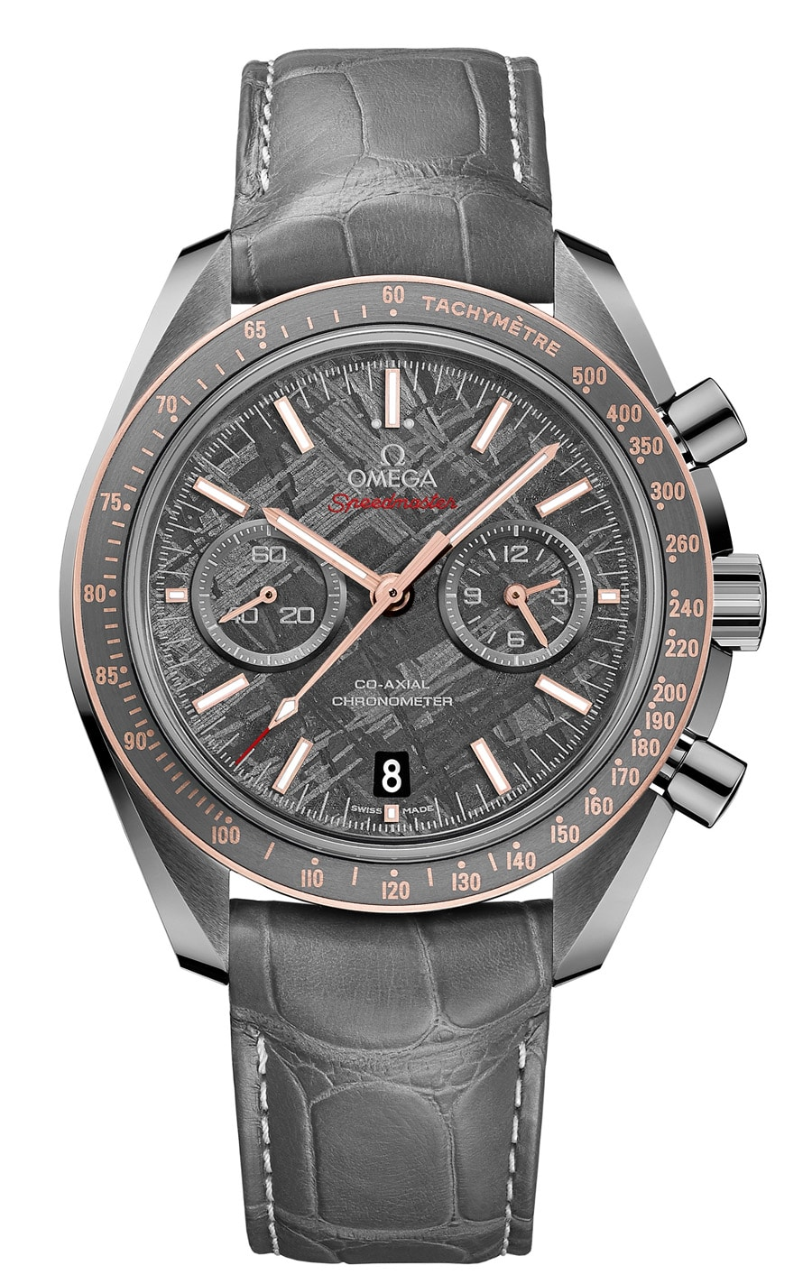 "Omega: Speedmaster Grey Side of the Moon ""Meteorite"""