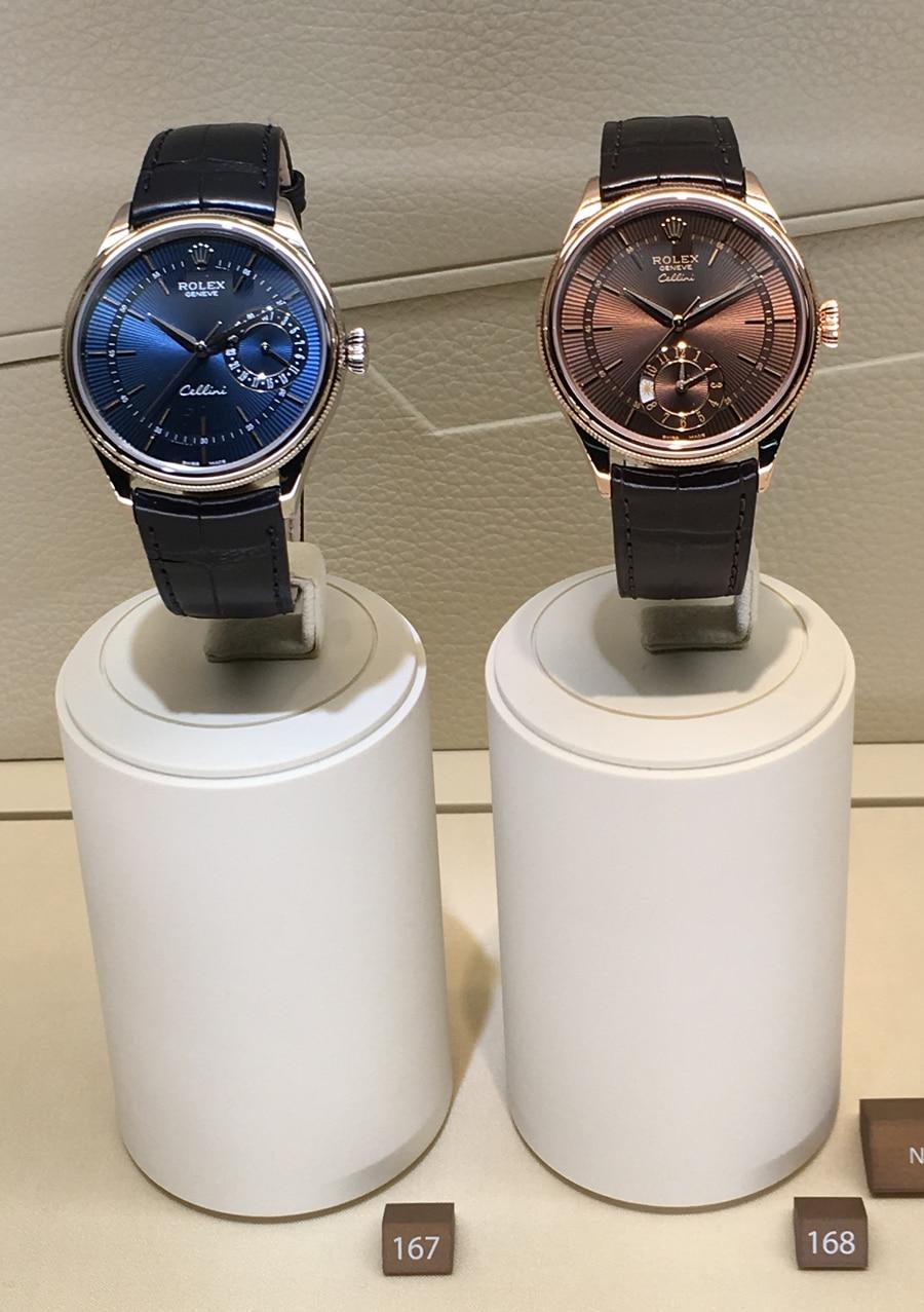 Rolex: Cellini Date und Cellini Dual Time, gesehen auf der Baselworld 2016