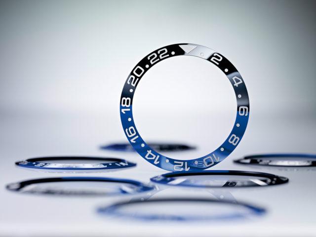 Die Cerachrom-Lünette von Rolex besteht aus besonders kratzfester Keramik.