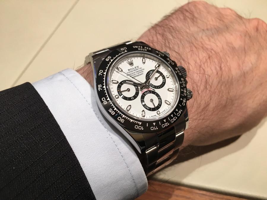 Rolex: Oyster Perpetual Cosmograph Daytona, am Handgelenk