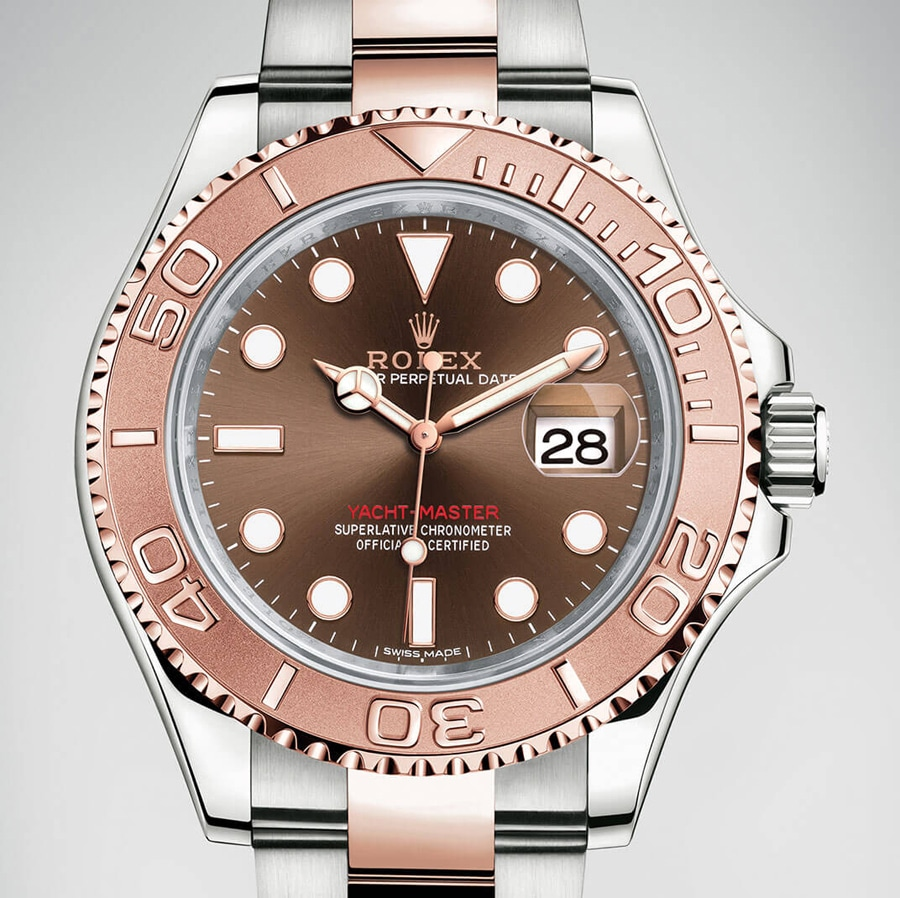 Rolex: Yacht-Master 40 in Rosé-Bicolor