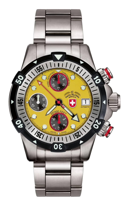 CX Swiss Military Watch 20'000 Feet