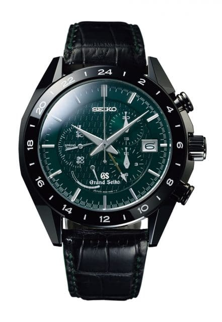 Grand Seiko Spring Drive Chronograph Black Ceramic Limited Edition
