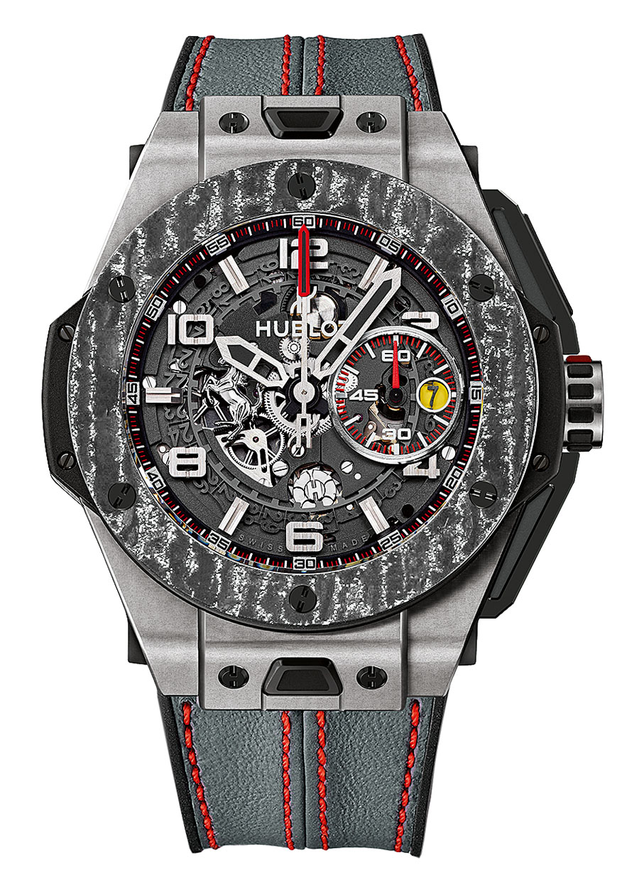 Hublot: Big Bang Ferrari Titanium Carbon