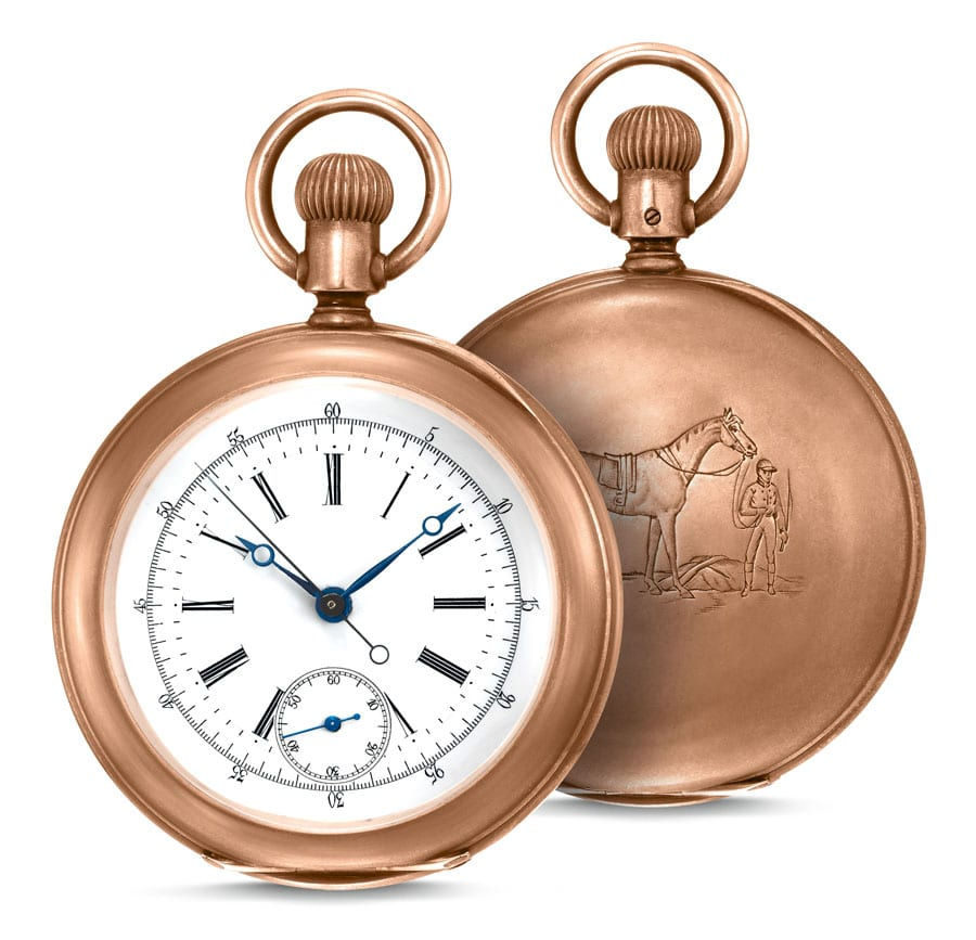 Longines The Longines Equestrian Pocket Watch
