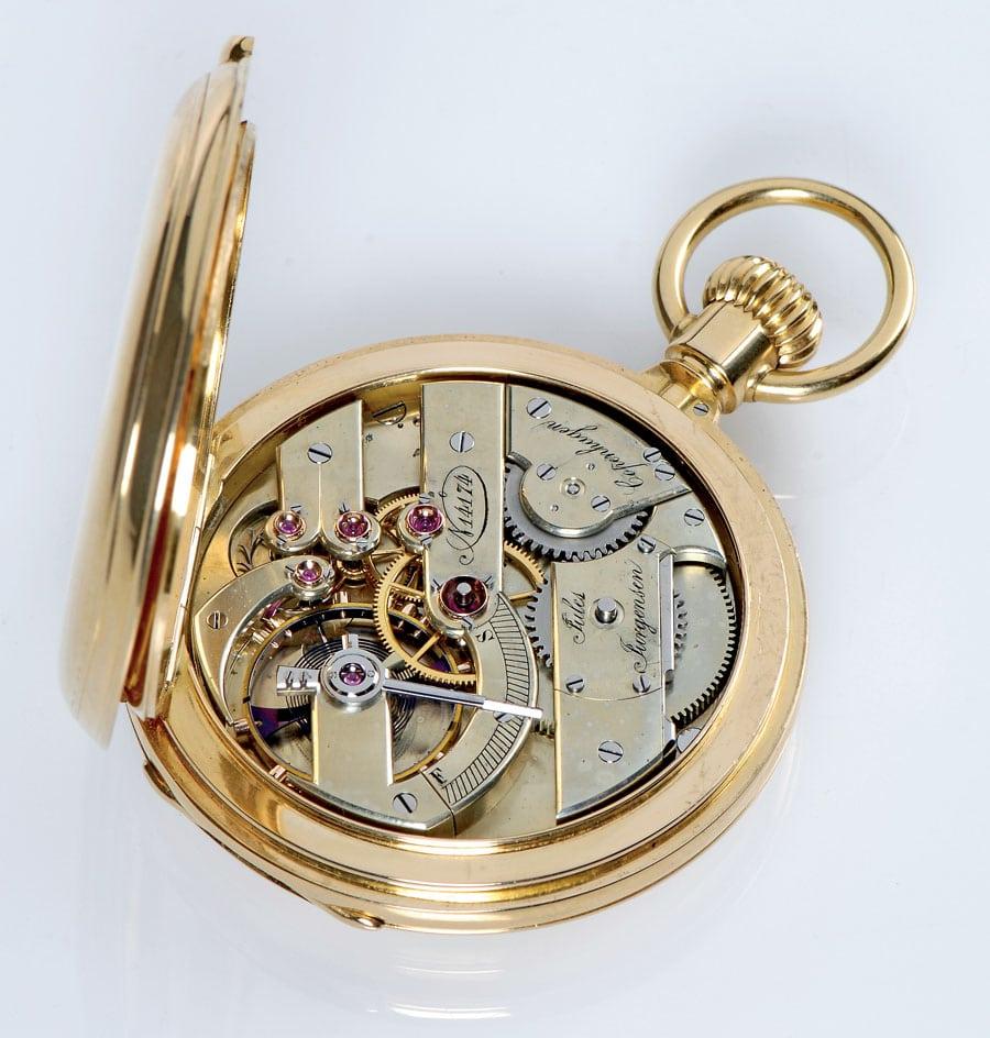 Uhrwerk von Jules Jürgensen, 1867