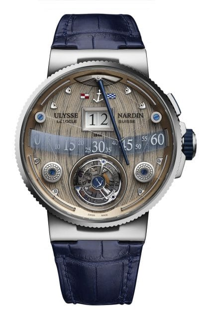 Ulysse Nardin: Grand Deck Marine Tourbillon
