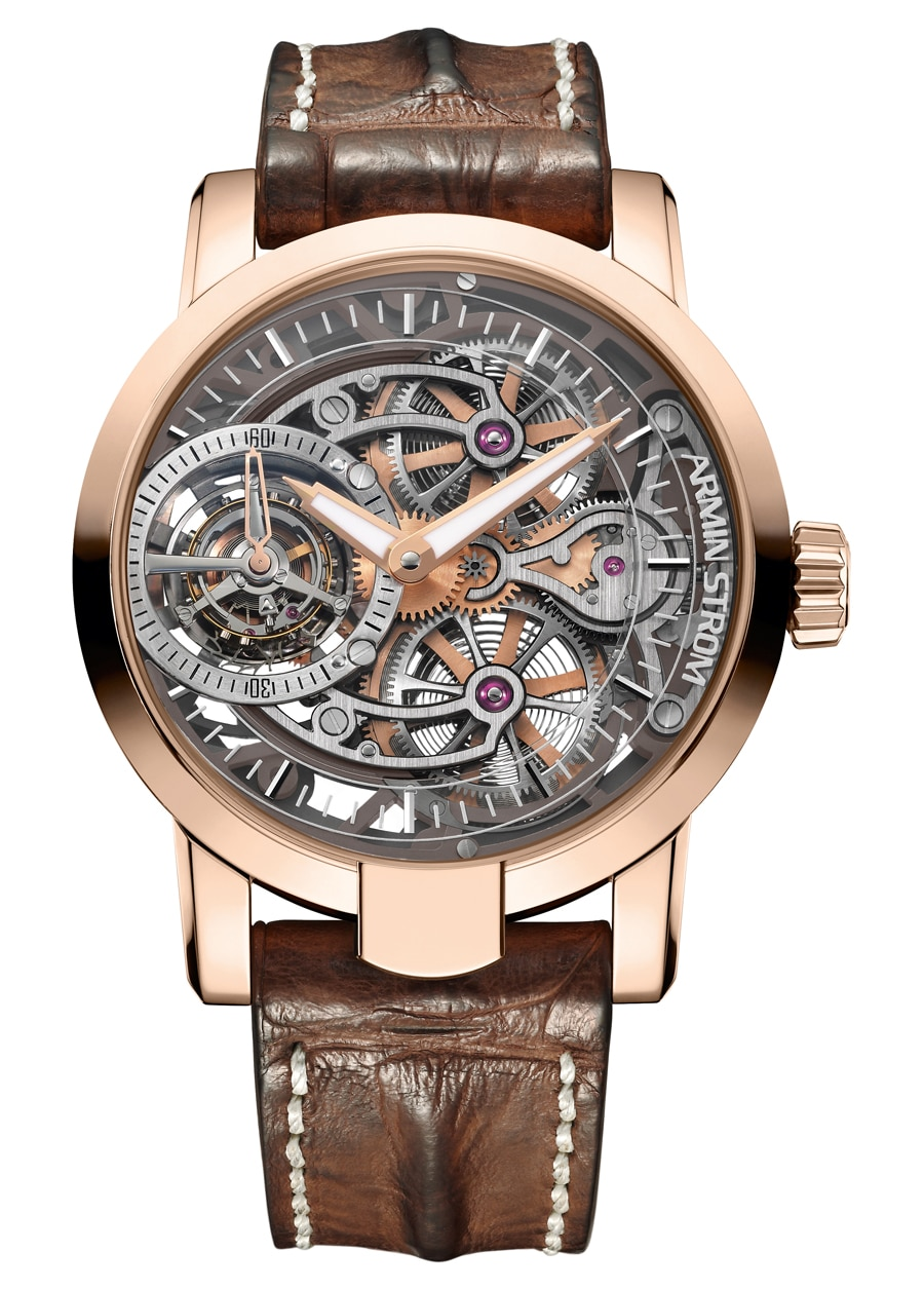 Armin Strom: Tourbillon Skeleton Fire