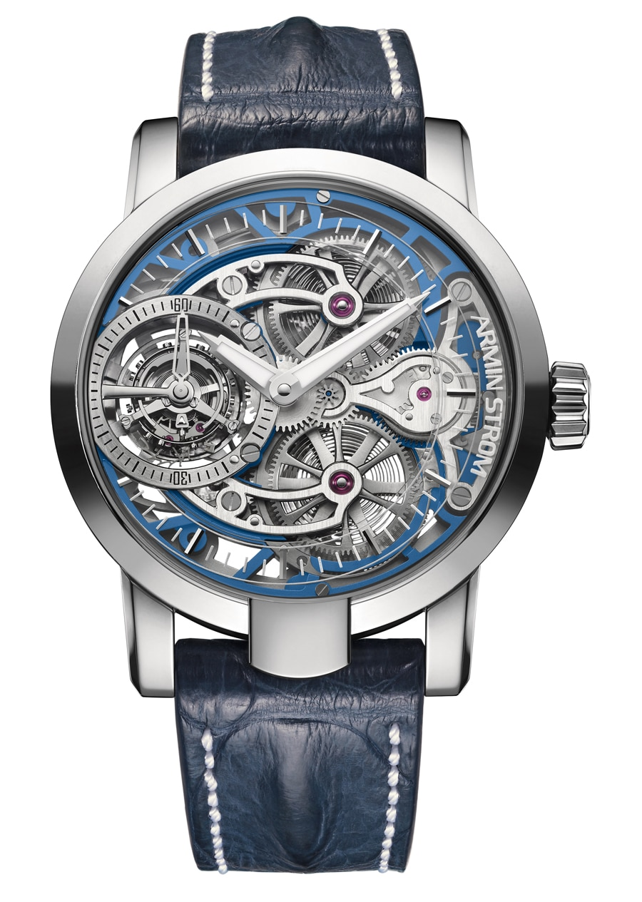 Armin Strom: Tourbillon Skeleton Water