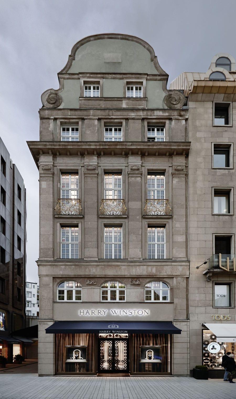 Die erste Deutschland-Boutique eröffnete Harry Winston in der Düsseldorfer Königsallee