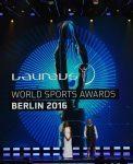 Laureus World Sports Awards 2016: Sportmoderatorin Kate Abdo und Schauspieler Bill Murray führten durch den Abend