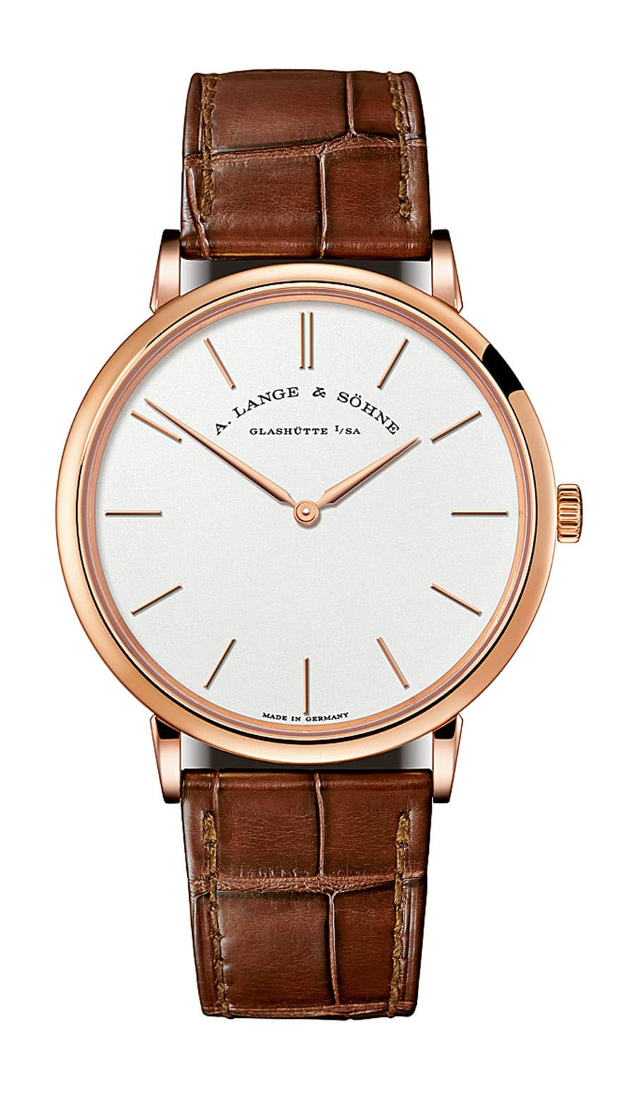A. Lange & Söhne: Saxonia Thin in Rotgold