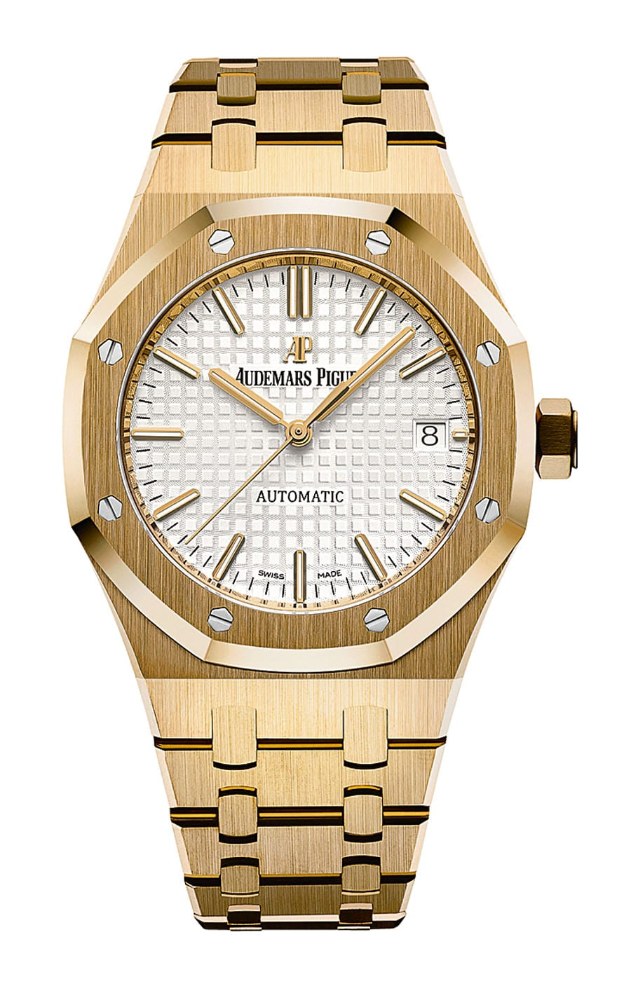 Audemars Piguet: Royal Oak Automatik in Gelbgold