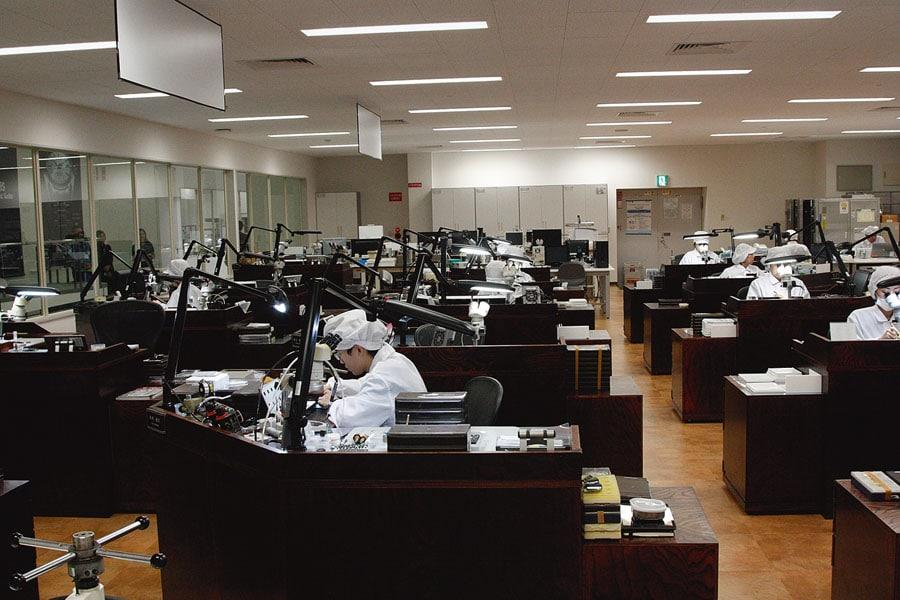 Besuch Produktionsstätten von Seiko in Japan